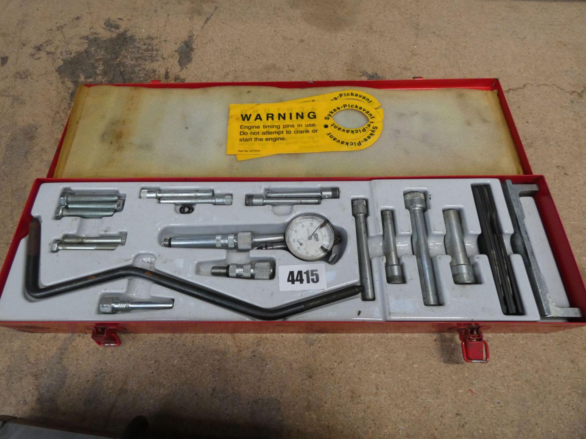 Sykes-Pickavant diesel engine setting tool