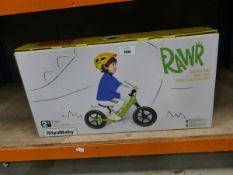 Rawr Royal Baby boxed balance bike