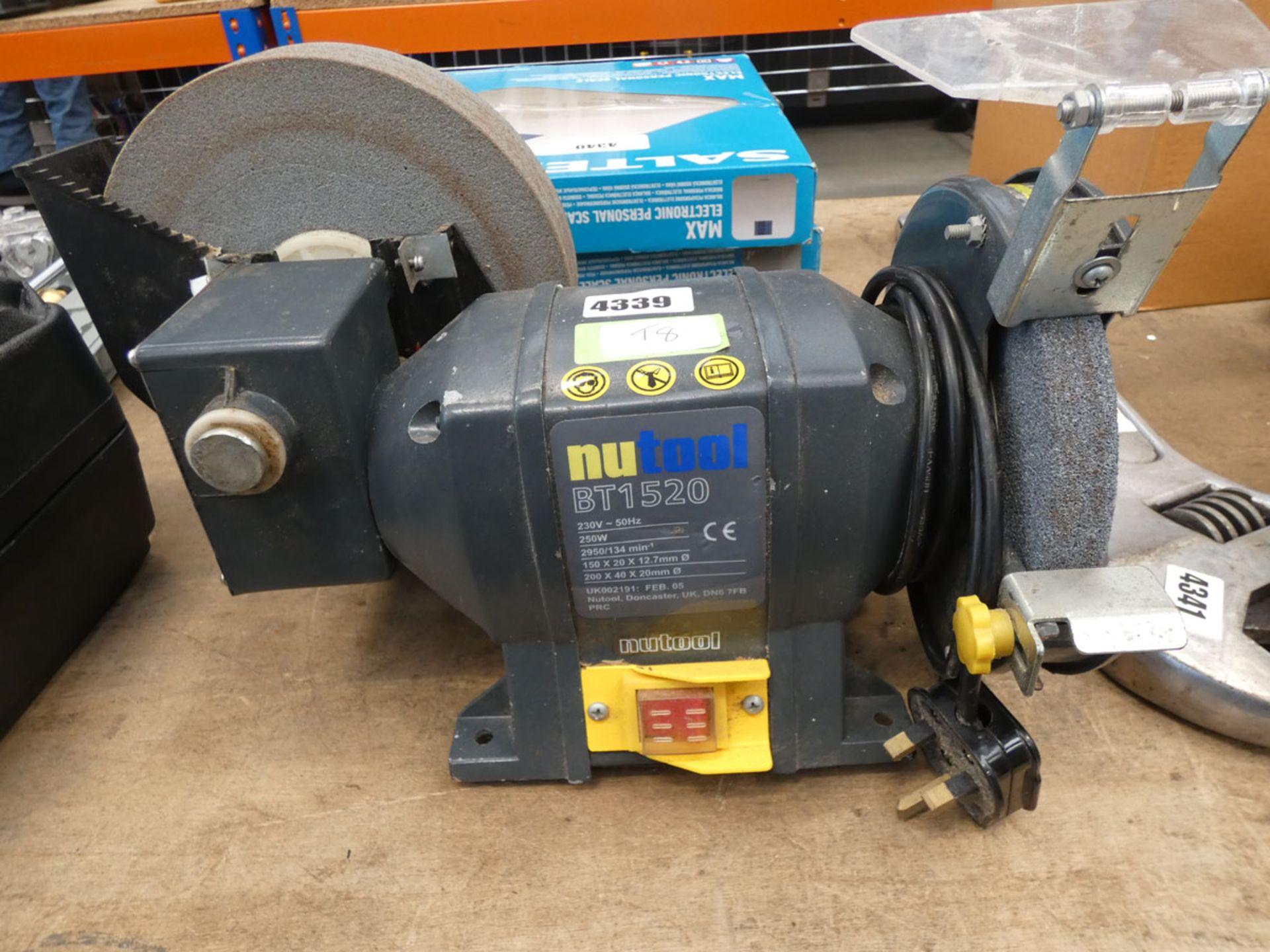 Newtool bench grinder and wet grinder