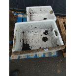2 Butler sinks