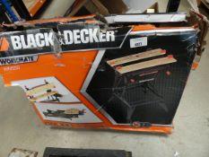 Boxed Black & Decker workmate