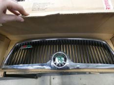 Used Skoda V1 grill and box of blinds