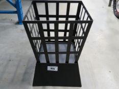 Small black fire basket