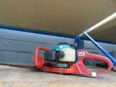 Petrol powered hedge cutter