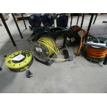 6 assorted extension reels
