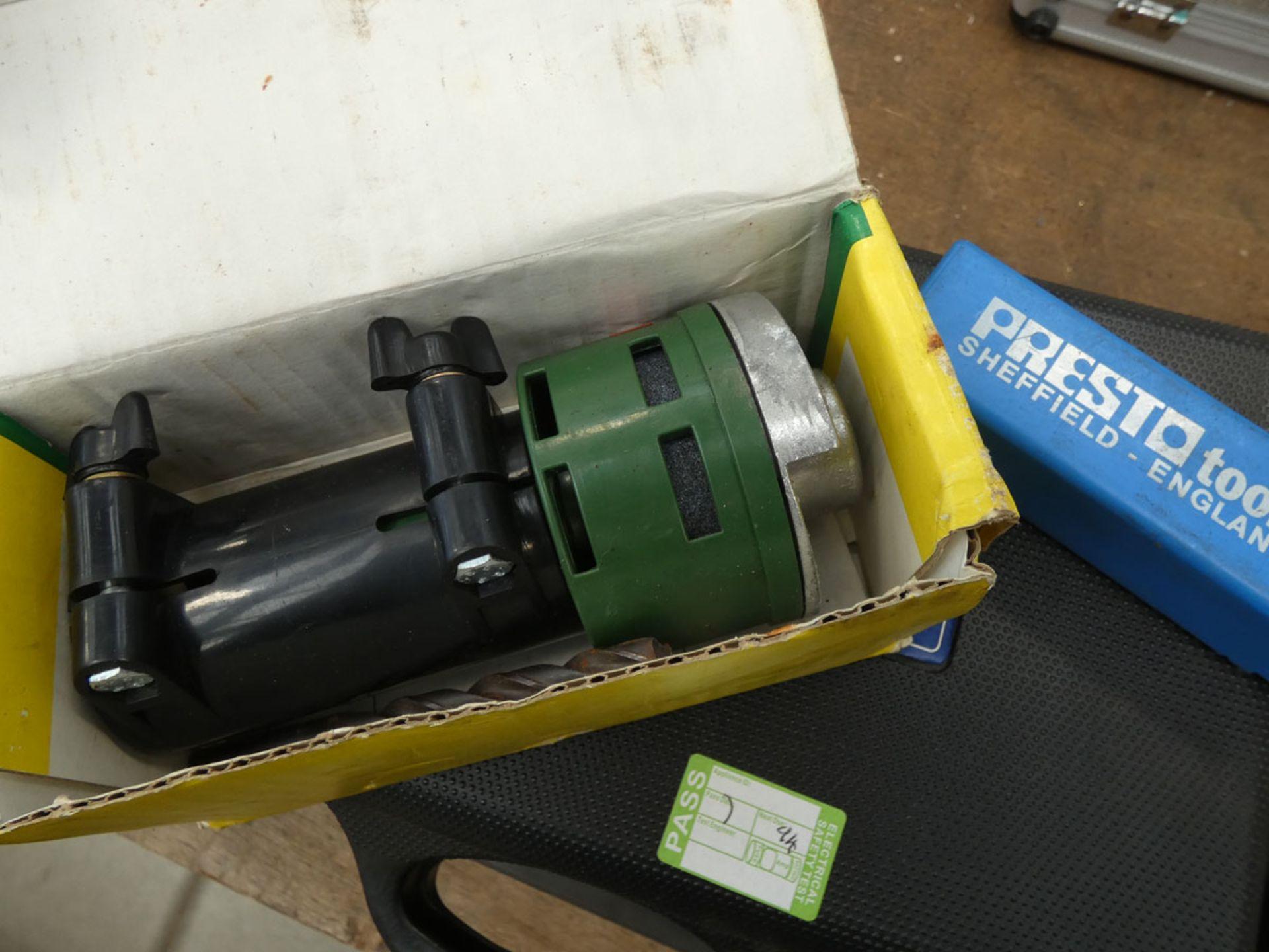 Newtool screwdriver set, Bosch drill, mini grinding heads and a drill bit set - Image 4 of 6