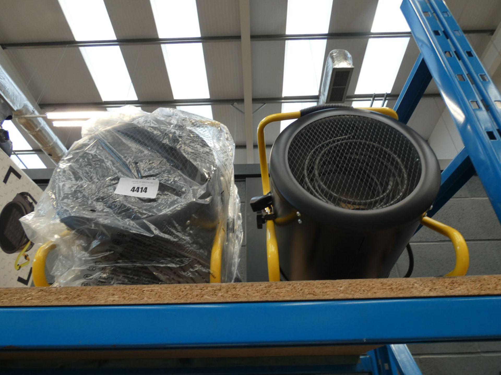2 unboxed workshop heaters