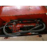 Supreme hydraulic body frame repair kit