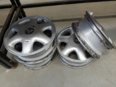 4 Vauxhall alloy wheels