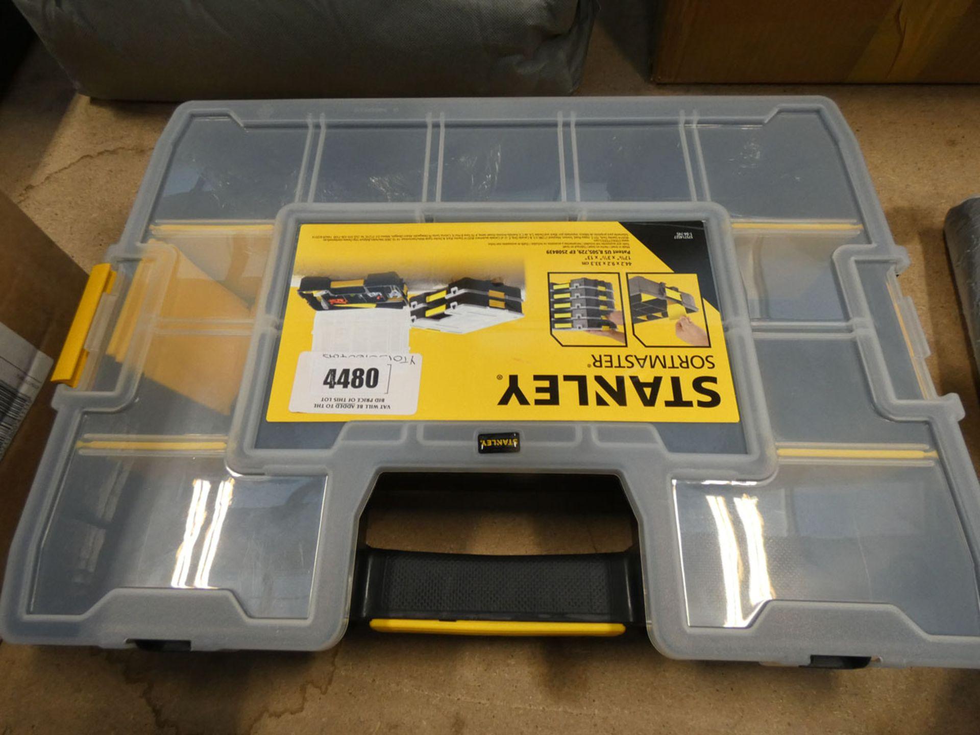 Stanley drill organiser box