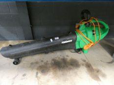 4115 Power base electric leaf blower