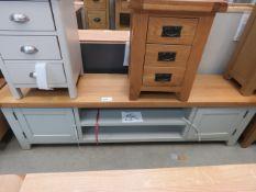 Hampshire grey extra large TV unit (51A)