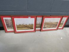 (1) 5 prints of the St Albans Grand Steeplechase