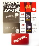 Various : Fashion (x7) - Total face value £140