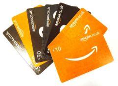 Amazon (x7) - Total face value £135