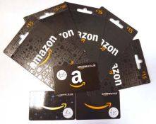 Amazon (x8) - Total face value £140
