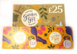 National Garden (x3) - Total face value £60