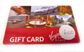 Virgin (x1) - Total face value £100