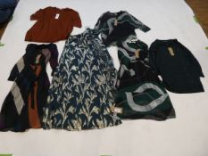 Selection of Phase Eight clothing to include dresses and top sizes 10, 12, 14, 24 and medium (