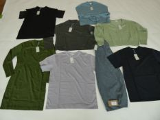 Selection of Cos clothing to include tops, knitwear, etc sizes S & M (quantity of 8 items)