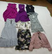 Selection of Phase Eight clothing to include dresses and jacket sizes 14, 16 & 18 (quantity of 7