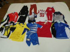 Selection of sportswear to include Champion, Adidas, Nike, etc (quantity of 15 items)