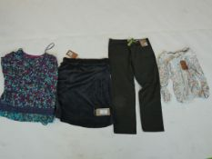 Selection of Mantaray clothing to include tops, trousers & skirt sizes 14, 18, 20 & 34S (quantity of