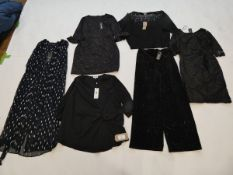 Selection of Phase Eight clothing to include dresses, top and trousers sizes 10, 12, 14, 18, 24