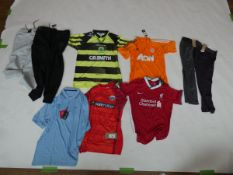 Selection of sportswear to include Adidas, Nike, Umbro, etc (quantity of 9 items)