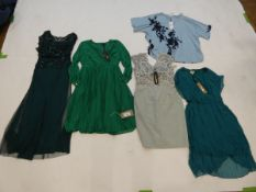 Selection of Phase Eight clothing to include dresses and top sizes 10, 14, 16 and 24 (quantity of