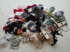 Selection of ladies and men's underwear (approximately 70 items)