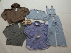 Selection of Zara clothing to include tops, trousers, etc in sizes XS, S & M (quantity of 7 items)