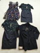 Selection of Phase Eight clothing to include dresses and cardigan sizes 8 and 10 (quantity of 4