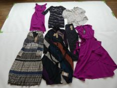 Selection of Phase Eight clothing to include dresses and trousers sizes 12, 14 & 18 (quantity of 7