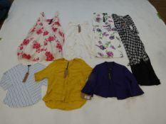 Selection of Phase Eight clothing to include dresses and top sizes 8, 10, 12, 14 and 18 (quantity of