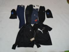 Selection of sportswear to include Nike, Adidas, Puma, etc (quantity of 9 items)