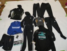 Selection of sportswear to include Adidas, Nike, New Balance, etc (quantity of 11 items)