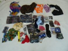 Selection of accessories to include scarfs, gloves, belts, etc