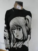 Bangouluo Classic Fashion anime Death Note global spread blackair.inc jumper