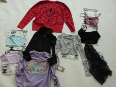 Selection of Shein clothing to include tops, jumpers, etc