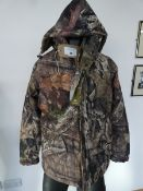 Mossy Oak waterproof technology nature camouflage jacket size S