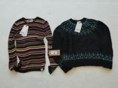 People Tree leena jumper together with Komodo annabelle top both size large