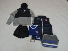 Selection of sportswear to include Venom, Nike, Macron, etc sizes S, M and L