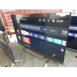 TCL 55'' 4K TV Model: 55EC788, includes remote (R21) and box (B99), box has missing foam inserts
