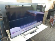 Toshiba 50'' 4K TV Model: 50UA3A63DB, includes remote (R13) and box (B37) Screen has no visible