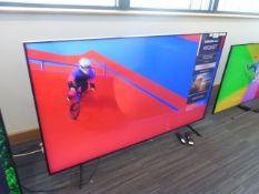 Samsung 65'' 4K TV Model: QE65Q60TAU, includes remotes (R39 & R40) and box (B57) Screen has no