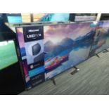 Hisense 65'' 4K TV Model: 65A7100FTUK, includes remote (R23) and box (B46) Screen has no visible