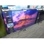 LG 65'' 4K TV Model: 65UN81006LB, includes remote (R47) and box (B63) Screen has no visible