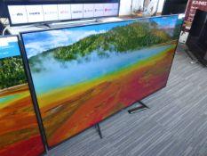 Hisense 65'' 4K TV Model: 65A7100FTUK, includes remote (R9) Screen has no visible damage, sound is