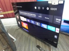 TCL 50'' 4K TV Model: 50C715K, includes remote (R1) and box (B30) Ref: 108451
